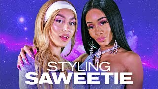 Saweetie Looked BOMB in Our Icy Girl Looks! ~ NAYVA Ep #37 ~ FASHION & BEAUTY