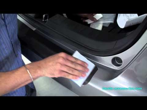 Honda Fit Rear Bumper Protector Installation (Honda Answers #46)
