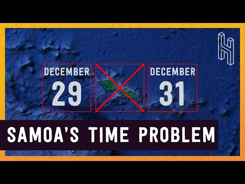 Why Samoa Skipped December 30, 2011