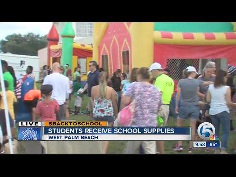 Back 2 School blast in West Palm Beach