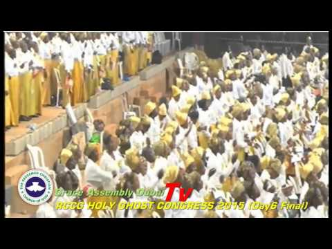 RCCG Holy Ghost Congress 2015 Special Congregational Hymn
