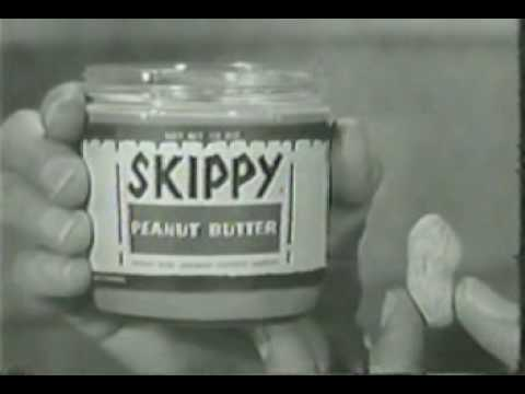 Skippy Peanut Butter Ad From 1960 - YouTube