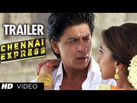 """Chennai Express Trailer"" (Official) | ShahRukh Khan, Deepika Padukone"