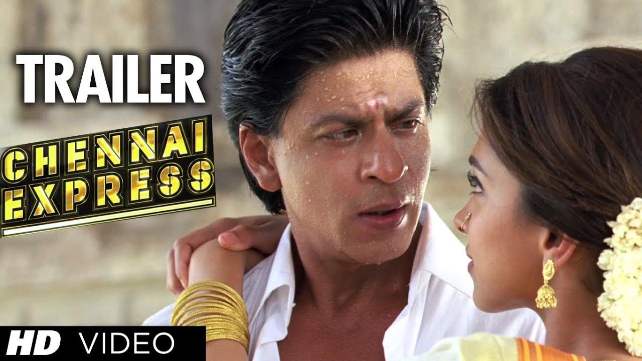 "Download ""Chennai Express Trailer"" (Official)   ShahRukh Khan, Deepika Padukone"