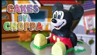 Mickey Mouse Cake (How to)