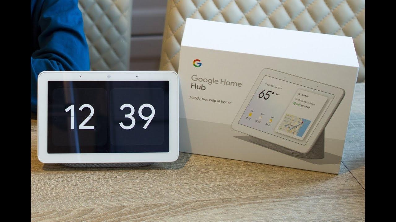 Обзор Google Home Hub - первого смарт дисплея от Гугл!
