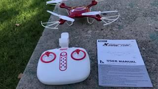 My adventures with SYMA X5UW Drone by DoDoeleph [REVIEW]