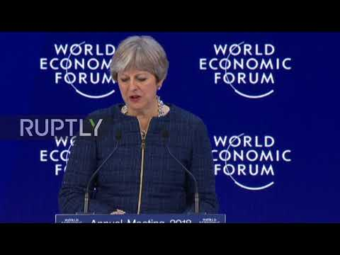 Switzerland: UK to remain 'global advocate of free trade' post-Brexit - Theresa May