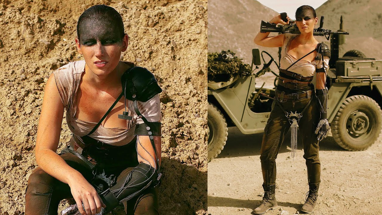 Extrem DIY FURIOSA COSTUME - MAD MAX | THE SORRY GIRLS - YouTube OI83