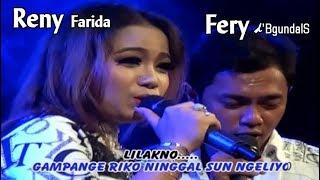 Gambar cover Reny Farida + Fery ~ NINGGAL SEMAYAN (duet)   |   Official Video