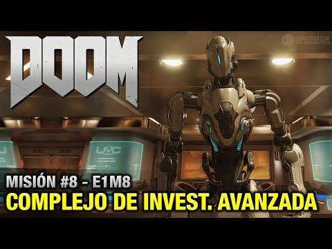 DOOM (2016) - Misión #8 - Complejo de investigación avanzada (Coleccionables + Secretos - Español)