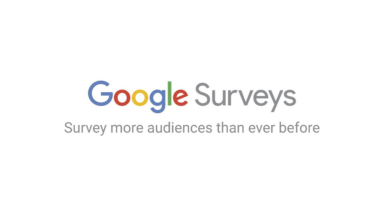 Google Surveys