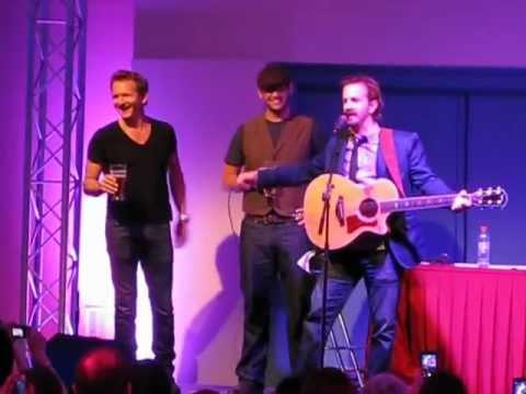 Richard Speight Jr & Sebastian Roché singing