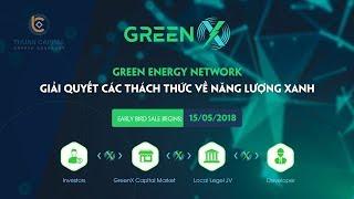 Phân tích GreenX ICO - Dự án GreenX là dự án đem lại giải pháp cho lĩnh vực năng lượng xanh
