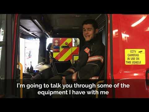 Tour of Cambridge fire station