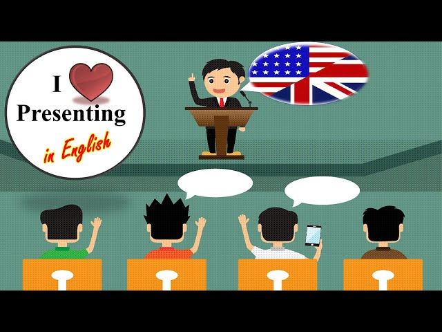 Beginning Your Presentation in English