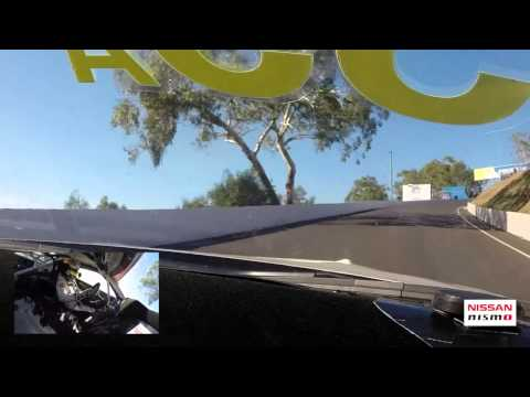 Katsumasa Chiyo lap around Mount Panorama in the Nissan GT-R NISMO GT3