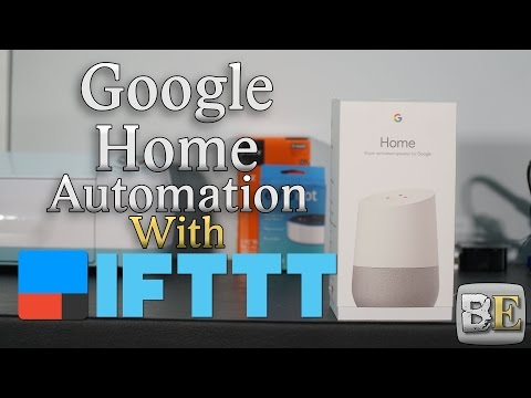 Google Home Automation with IFTTT