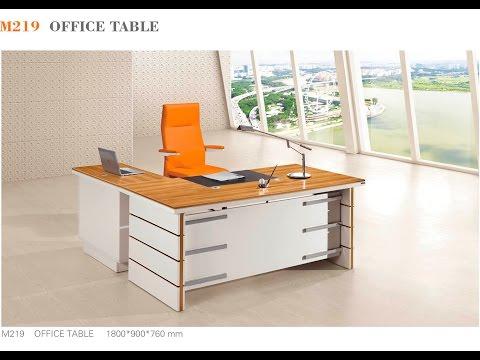 M219 Executive Desk Assembly