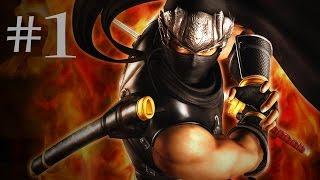 Ninja Gaiden Sigma Walkthrough Part 1 - Chapter 1: The Way of the Ninja [1080p HD] (60fps)