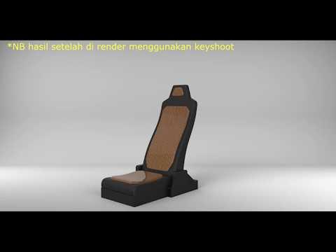 Tutorial Membuat Jok menggunakan software Rhinocheros 3d thumbnail