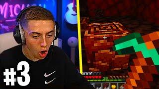 JE TROUVE MA PREMIERE NETHERITE ! (Aventure Minecraft avec Inox #3)