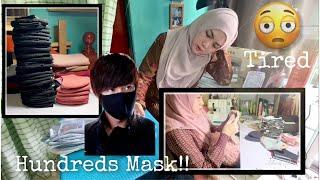 How I Make Hundreds of City Hunter Masks 🥴 (Extreme ways Jason Bourne - Moby)