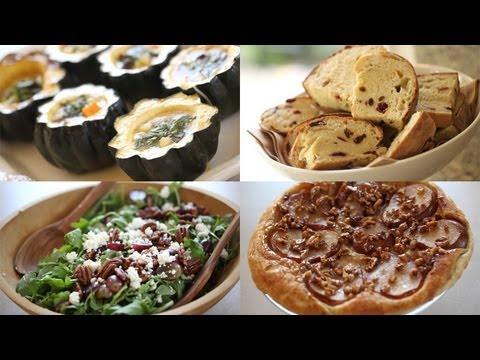 Vegetarian Thanksgiving Menu