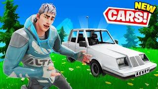 New CAR META! OP! Winning SOLOS (Fortnite Season 3)
