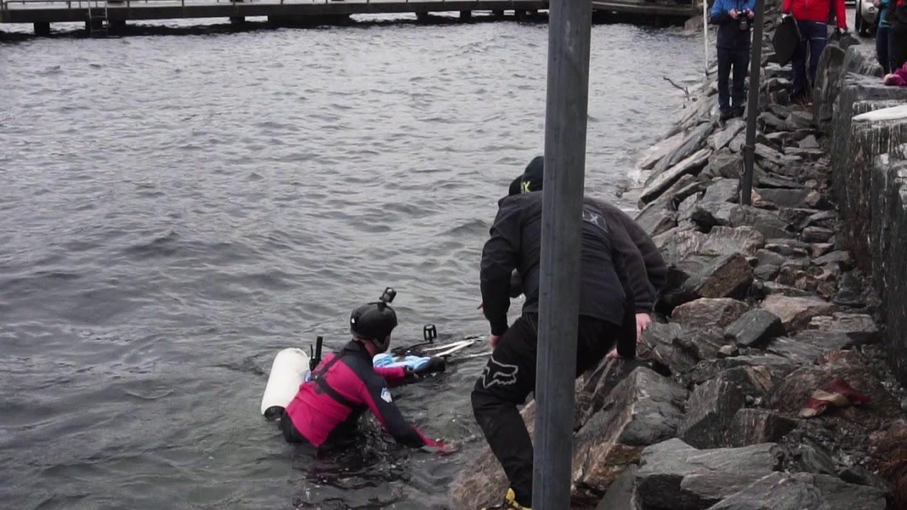 Anders Eidså sykla seg på sjø