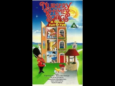 Nursery Rhymes and Songs - The House full of fun (1992 UK VHS)