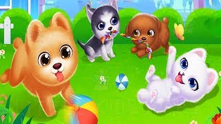 Play with Puppy Friend Cute Pet Dog Care Games - Learn to Feed and Dress Up Cute Puppies screenshot 2