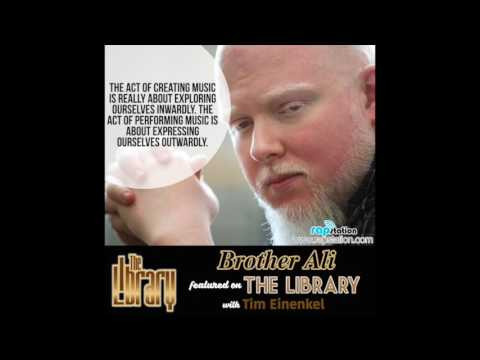 The Library: Brother Ali, Music, Government Spying and Death Threats in Iran