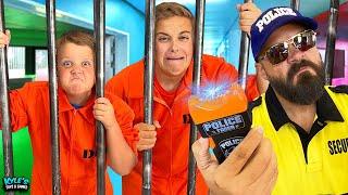 Trapped Inside a Prison Escape Room CHALLENGE!