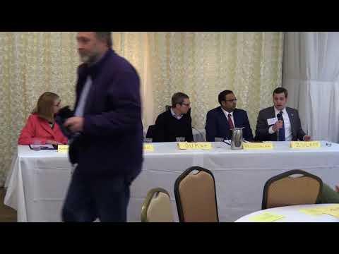 Illinois 8th State Senate District Candidate Forum 2-11-2018