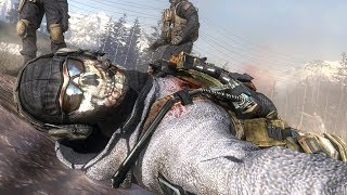 СМЕРТЬ ГОУСТА (GHOST) ПРЕДАТЕЛЬСТВО ШЕПАРДА - Call of Duty Modern Warfare 2