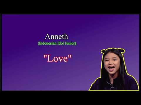 Lirik Anneth - Love