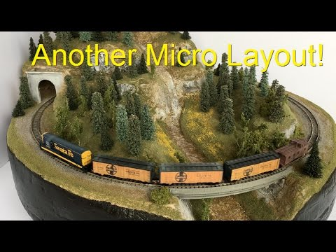Another N Scale Micro Layout!