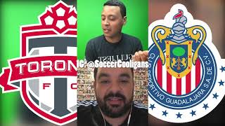 Will chivas de guadalajara beat toronto in concacaf champions league? live stream