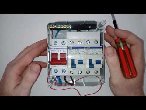 [FPWZ_2684]  How to wire up a 240 volt consumer unit for your campervan or motorhome -  YouTube | Wiring Diagram Rcd 240v For A Caravan |  | YouTube