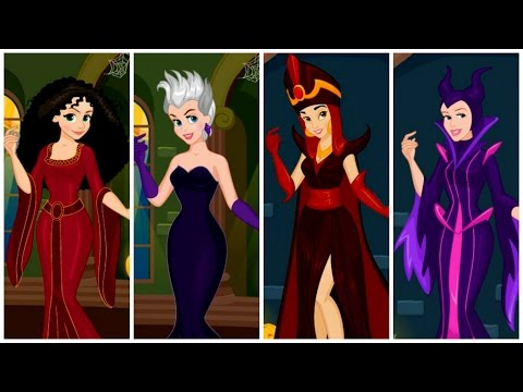 Công chúa Disney hóa thành phù thủy độc ác - Các nàng công chúa Disney