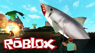 Roblox Adventures / Shark Attack! / Killing the Megalodon!! / Roblox Roleplay