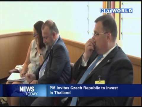 PM Invites Czech Republic to Invest in Thailand