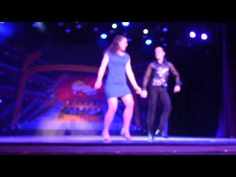 Amy Rider Dance Competition MS Zaandam