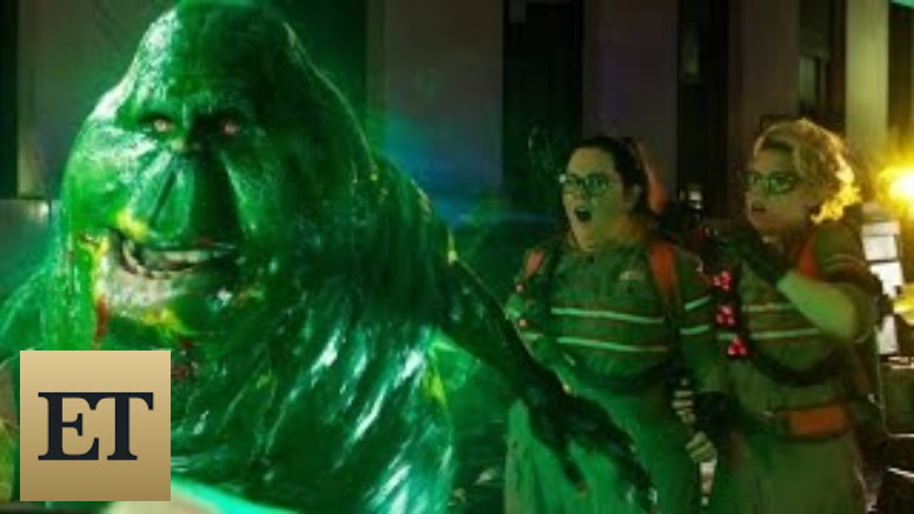 New Ghostbusters Trailer Slimer And The Stay Puft Marshmallow Man Make Their Epic Returns You
