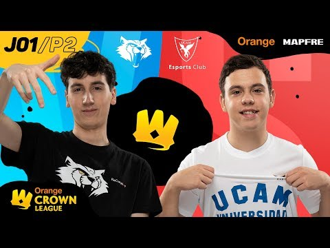 WYGERS VS UCAM ESPORTS CLUB   CROWN LEAGUE CLASH ROYALE   (partido 2) Jornada 01   Temporada 2020