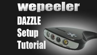 Pinnacle Platinum Dazzle Capture Card Setup Xbox 360 PS3 Wii