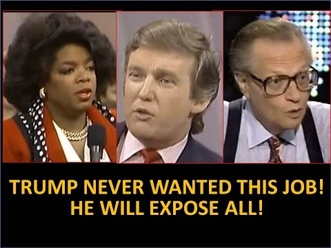 Trump Tells Oprah, Larry King , I Never Wanted This Job! America Is About to Collapse I Have to Help