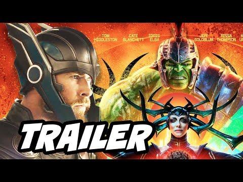 Thor Ragnarok Trailer - Hulk vs Surtur Breakdown