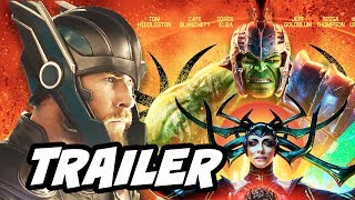 Thor Ragnarok Trailer - Hulk vs Surtur Breakdown